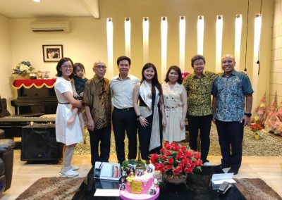 Marhensia's parents' pastor (+ family)